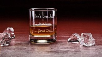 This Old Fashioned Drinking Glass Will Turn Any Bad Day Into The Best Night Ever