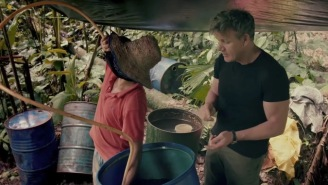 Celebrity Chef Gordon Ramsay Learns How To Make Cocaine From Scratch With Guerrillas In The Jungle