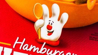 Hamburger Helper Revealed What's Inside Their Glove Mascot And It's Creeping People Out
