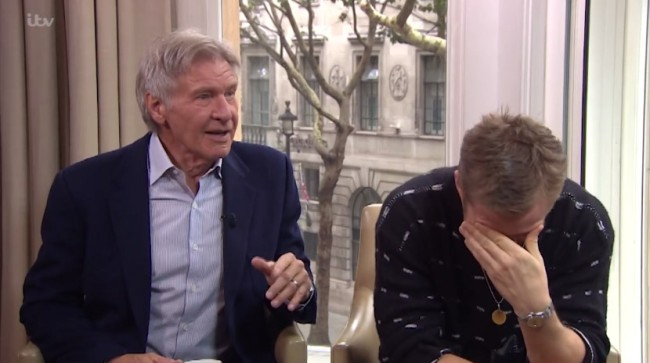 harrison ford ryan gosling funny interview