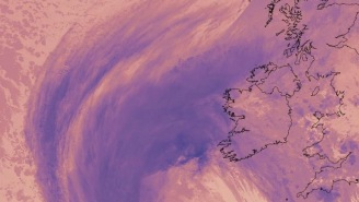 Hurricane Ophelia Has Hit Ireland And The Emerald Isle Is Getting Crushed Right Now