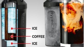If You Like Iced Coffee, This $19 HyperChiller Cools Any Coffee In 60 Seconds