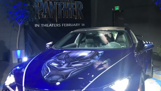 Lexus Made A Super Hero-Worthy Custom LC For Marvel's 'Black Panther'