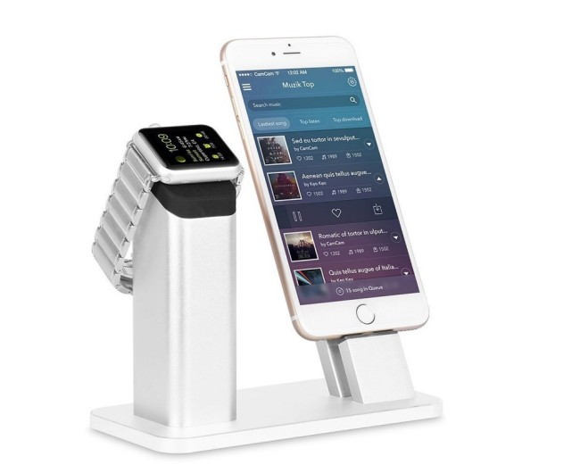 iPhone And Apple Watch Charging Dock