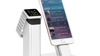 Keep Your Apple Watch And iPhone Secure And Within Reach With This Inexpensive Charging Station