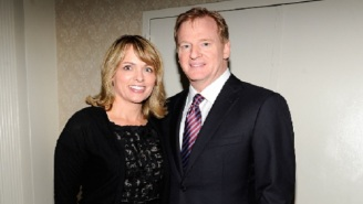 Roger Goodell's Wife Gets Busted Using Secret Twitter Account To Defend Her Husband