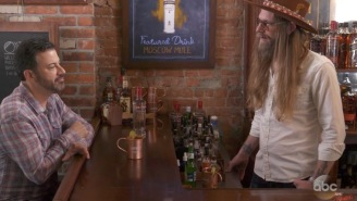 Jimmy Kimmel Pays Tribute To Brooklyn Bartenders By Asking Them Ridiculous Questions About Bartending