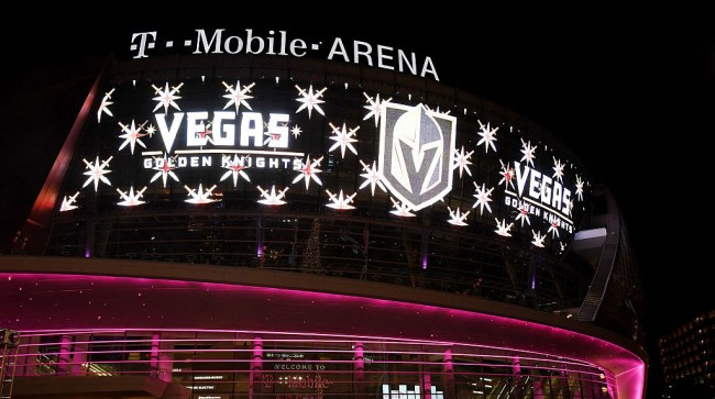 las vegas knights honor shooting victims first home game