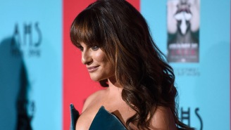 Lea Michele Added Some New Pics To Her Fun 'Bed Series' Of Photos, Misplaced Her Shirt