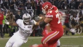 Khalil Mack Straight Up Manhandled Chiefs Offensive Lineman Eric Fisher With One Arm