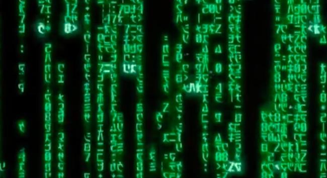 matrix green code