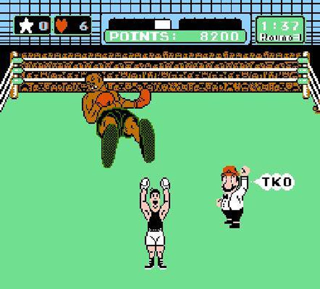 mike tyson punch out ko