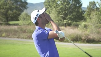 Pro Golfer Eduardo Molinari Hit 500 Shots From 145-Yards Trying To Make A Hole-In-One