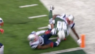 Refs Screw The Jets Out Of A Touchdown In What Could Be The Worst Ruling In NFL History