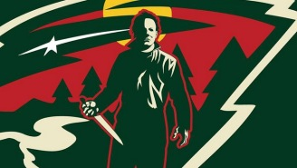 These Incredible NHL Logos Mashed Up With Horror Films Are The Sweetest Treats You'll Get Today