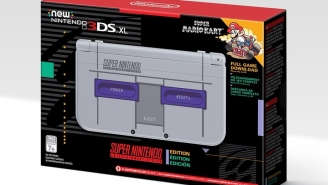 You'll Be Able To Get Your Hands On The SNES-Themed 3DS XL Next Month