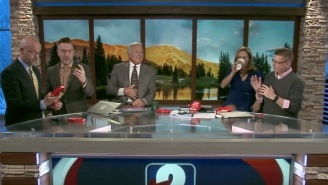 News Anchors Attempt Carolina Reaper Pepper 'One Chip Challenge' And Suffer Badly On Air