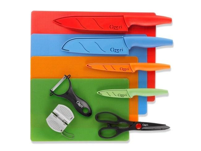 Ozeri Elite Chef 15-Piece Stainless Steel Knife