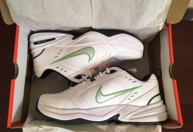 Pete Carroll Custom Nike Air Monarch IVs