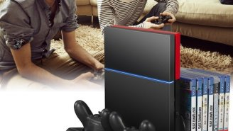 Keep Your PS4 Cool And Organized With This Inexpensive Console Stand And Charging Station