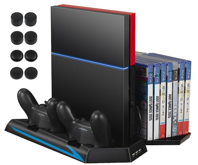 PS4 Gaming Stand Cooling