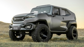 Military-Inspired Rezvani Tank Is 'Xtreme Utility Vehicle' With 500-HP And Crazy Price Tag