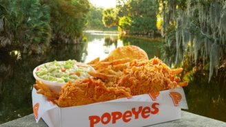 Here's The Low-Down On That California Restaurant Serving Popeyes Fried Chicken