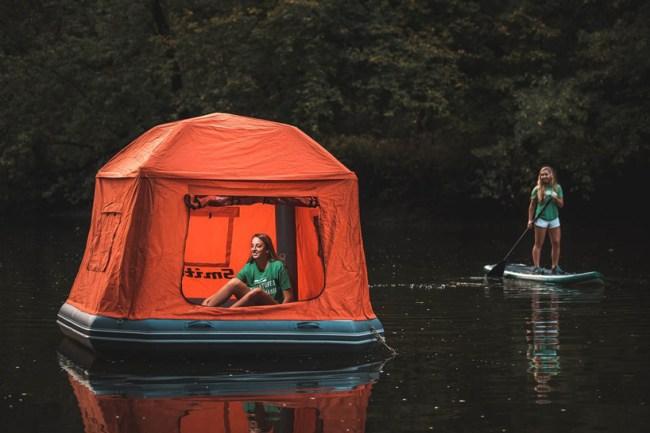 smithfly floating tent