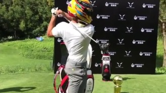 When NBA Champ Steph Curry And F1 Champ Lewis Hamilton Play A Round Of Golf Funny Things Happen