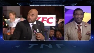 Steve Smith Was Genuinely Pissed Over Michael Irvin Dogging His Pants On National Television