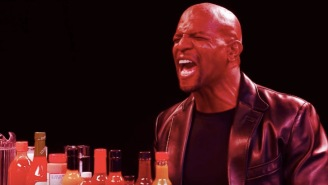 Terry Crews Eats The World's Hottest Wings, Learns That Pain Exists Outside Of The Gym