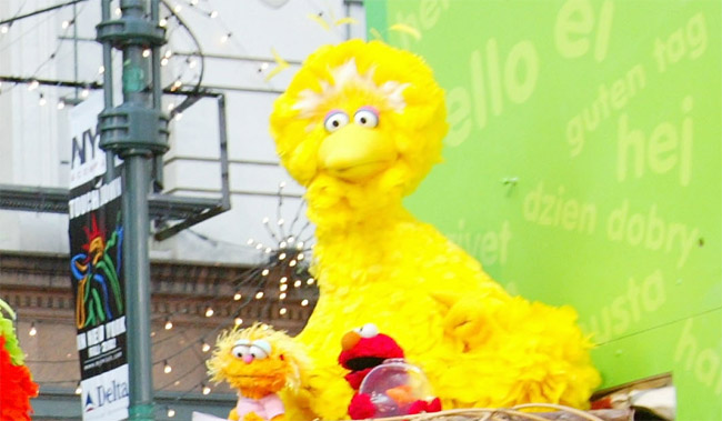 tweet about big bird sesame street goes viral