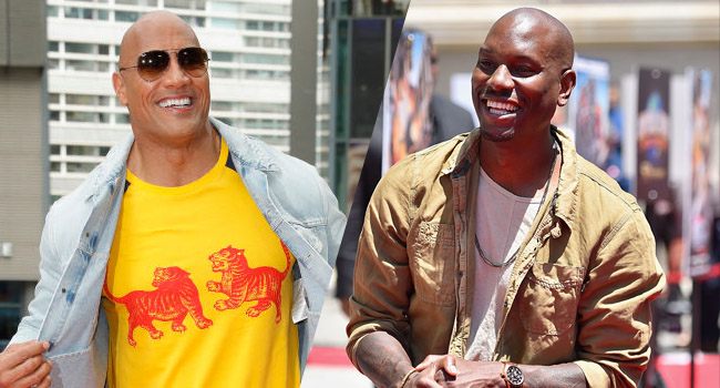 tyrese rips the rock fast furious delay