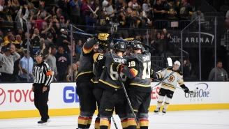 The Vegas Golden Knights Are Catching Hell On Twitter For A Tweet Before The Bruins Game