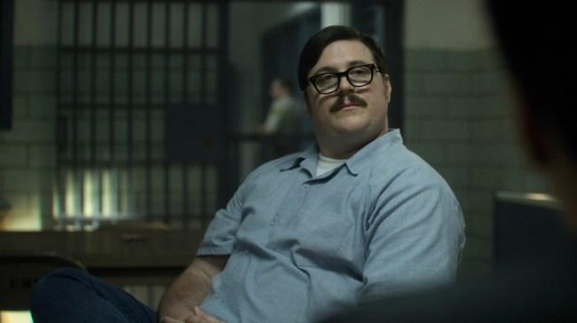 video comparison actor Cameron Britton Mindhunter Ed Kemper
