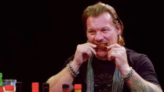 Six-Time WWE World Champion Chris Jericho Attempts To Eat 'Wings Of Death', The World's Hottest Wings