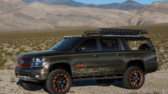 Chevy Linked Up With Luke Bryan To Design A Suburban Concept for Huntin', Fishin', Lovin' Every Day