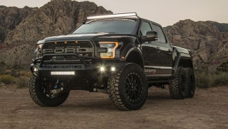 This 6-Wheel 600-Horsepower Hennessey VelociRaptor Is The 'Ultimate Off-Road Vehicle'