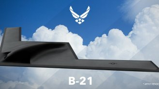 Is The Air Force Getting Ready To Test The New B-21 Raider Stealth Bomber At Area 51?
