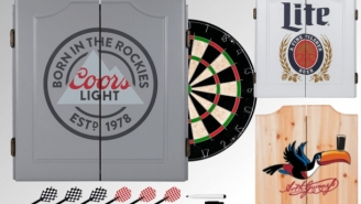 Get An Awesome Beer Brand Dartboard Set For Up to 66% Off