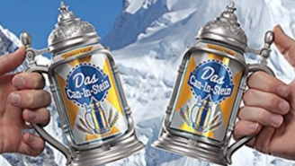 Drink Every Beer From A Stein Thanks To The Das Can-in-Stein