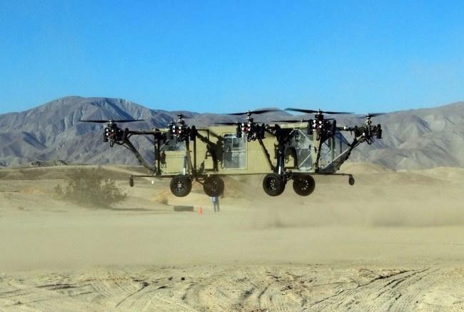 Black Knight Transformer Truck Helicopter Hybrid