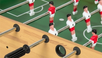 This Awesome Foosball Table Is Super Legit And Cost Less Than $100
