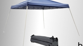 Upgrade Your Tailgate With A Canopy Tent For Just $49 (51% Off)