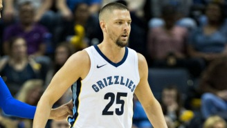 You Guys Wanna Hear A Funny Joke? Chandler Parsons Is Reportedly In A 'Committed' Long-Distance Relationship