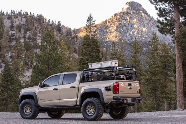 Chevrolet Colorado ZR2 AEV Concept Photos