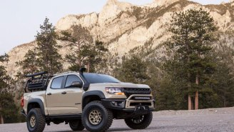 Chevrolet Colorado ZR2 AEV Concept Is Ready To Take You On An Off-Road Adventure Anywhere