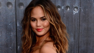 Chrissy Teigen Asked Her Fans To Photoshop Her Into A Victoria's Secret Photo, Boy, Did They Deliver
