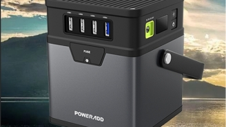 The Poweradd ChargerCenter Is A Compact Portable Generator That Powers Anything, Anywhere (58% Off)