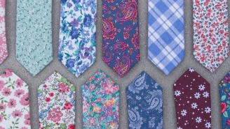 Brighten Up Your Boring Outfits With Sophisticated Floral Ties From Dazi